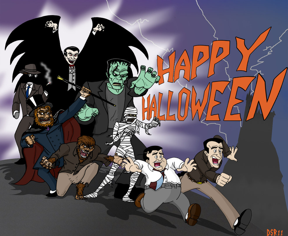 It's October 1st, Monsters Month, and This is Halloween 2016!