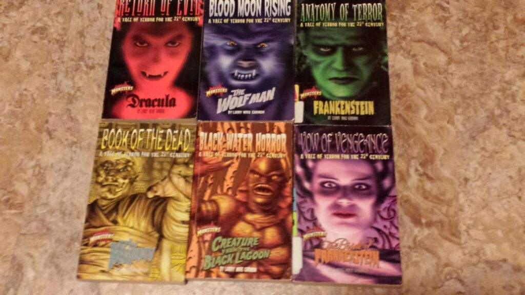Summertime Reading With The Classic Universal Monsters